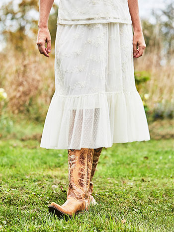 Somerset Lace Skirt
