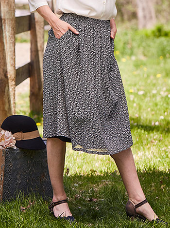 Fall Forget Me Not Skirt