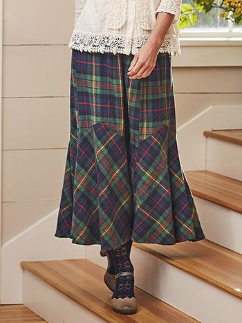 Highland Plaid Skirt