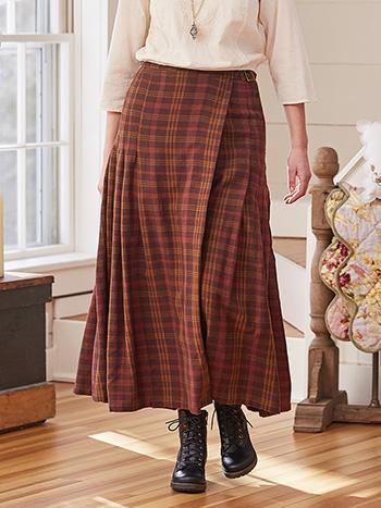 Timber Plaid Skirt
