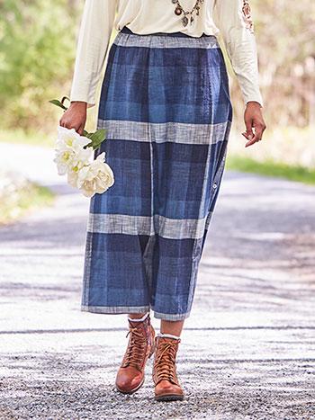 Storm Check Skirt