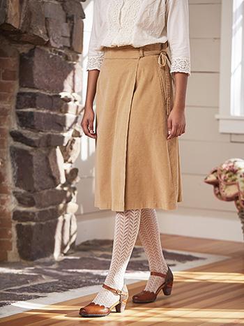 Friday Corduroy Skirt