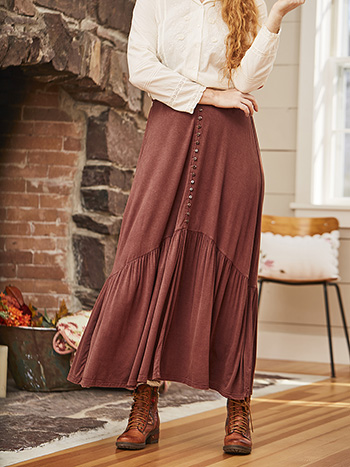 Homestead Jersey Skirt