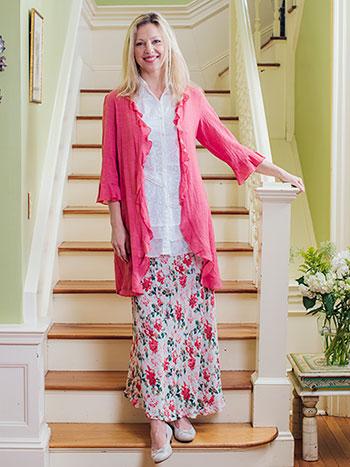 Greta's Garden Skirt