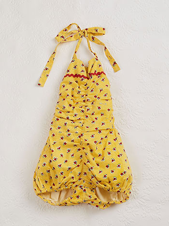 Honey Flower Baby Sunsuit