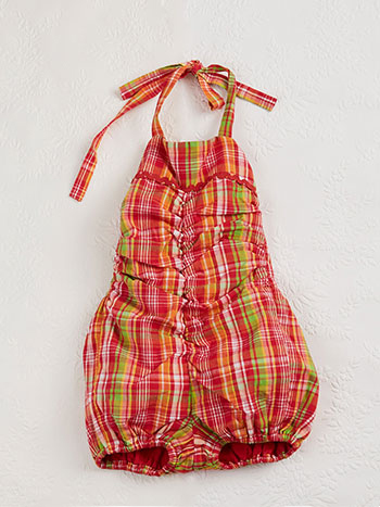 Watermelon Baby Sunsuit
