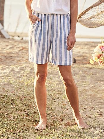 Bahama Stripe Shorts