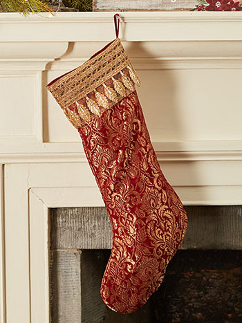 Brocade Stocking