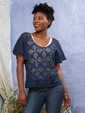 Mariposa Crochet Sweater