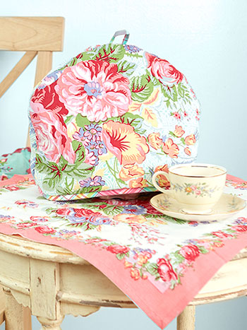 Garden Patchwork Tea Cozy