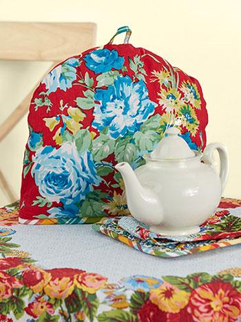 Primary Patchwork Tea Cozy