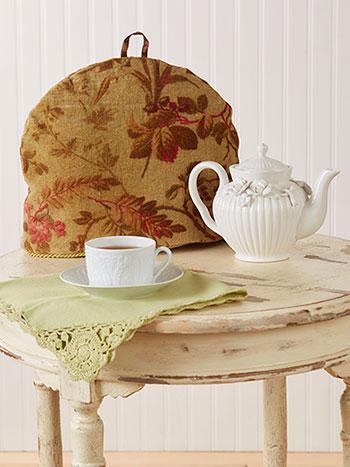Bramble Velvet Tea Cozy