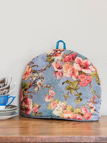 English Garden Velvet Tea Cozy