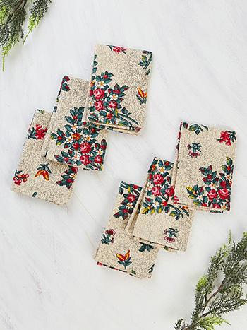 Belle Vue Honeycomb Tiny Towel Set of 6