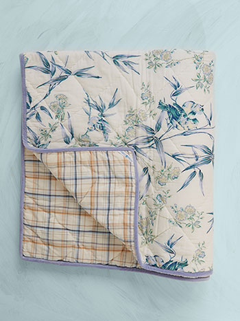 Bamboo Garden Throw