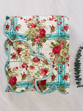 Cornwall Cottage Throw