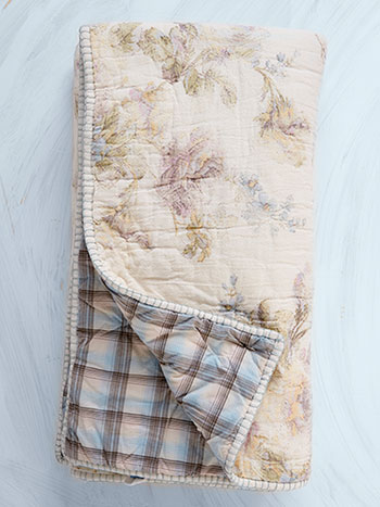 Victorian Rose Throw