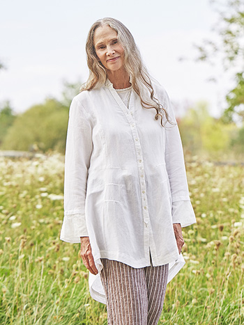 Lovely Linen Tunic