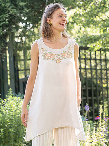 Cottage Linen Tunic