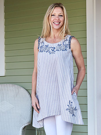 Asheville Stripe Tunic