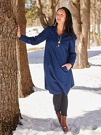 Charlie Denim Tunic