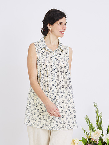 Lazy Daisy Sleeveless Tunic