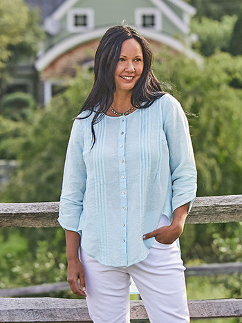 Relaxing Day Linen Tunic