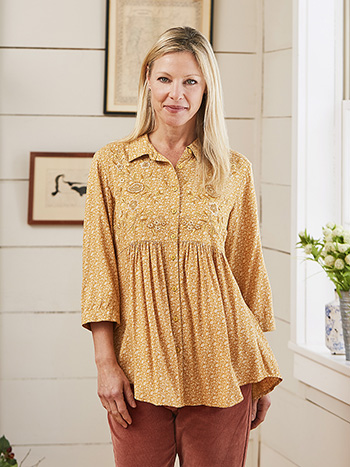 Fall Forget Me Not Tunic