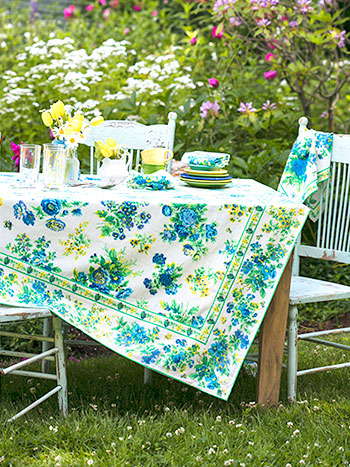 Artist Garden Tablecloth