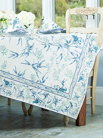 Bamboo Garden Tablecloth