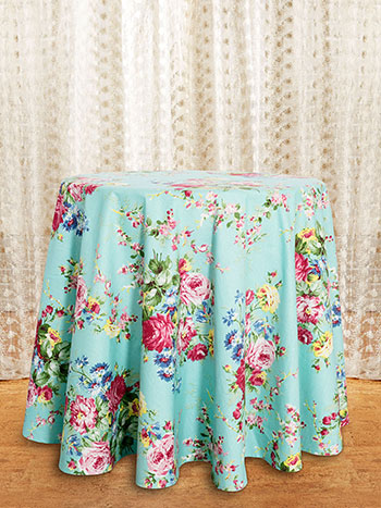 Cottage Rose Round Cloth