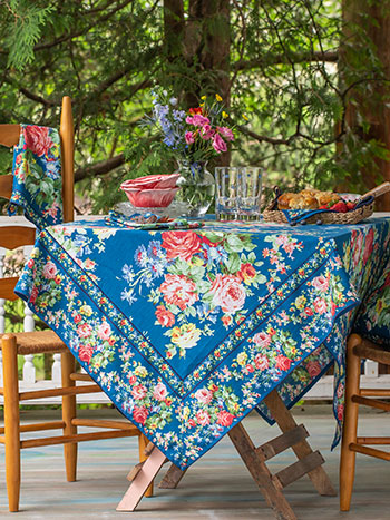 Cottage Rose Tablecloth