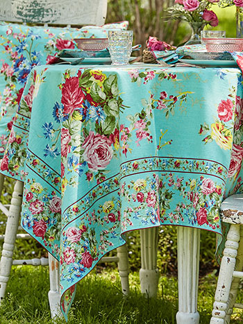 Cottage Rose Tablecloth