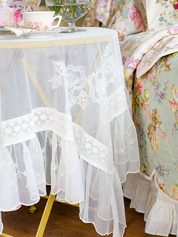 Angelic Embroidered Tablecloth