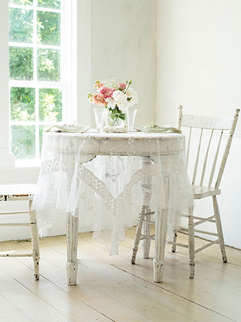 Beloved Embroidery Tablecloth