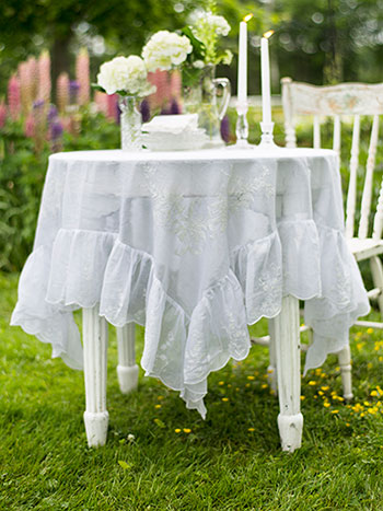 Josephine Embroidered Tablecloth