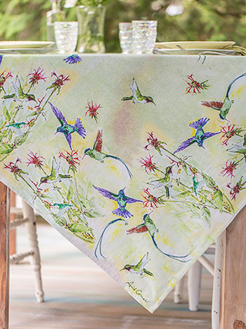 Hummingbird Tablecloth