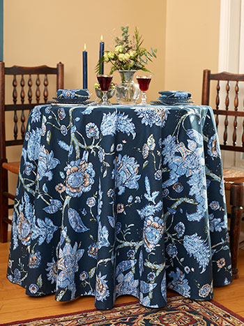 Jacobean Garden Round Tablecloth