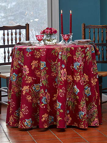 Jaipur Garden Round Tablecloth