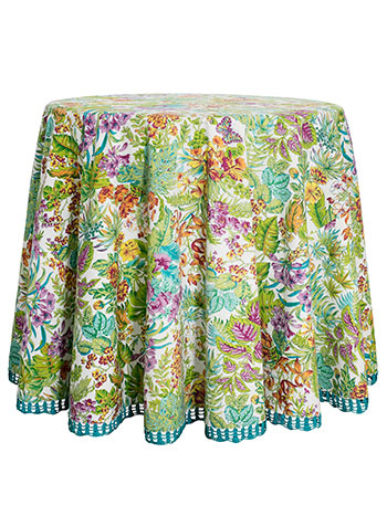 Jungle Round Tablecloth