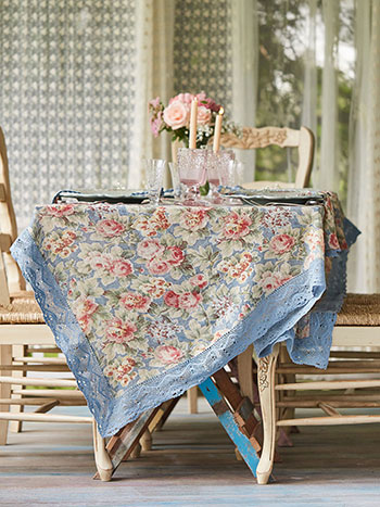 Cotillion Linen Tablecloth