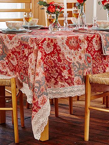 Magic Carpet Linen Tablecloth