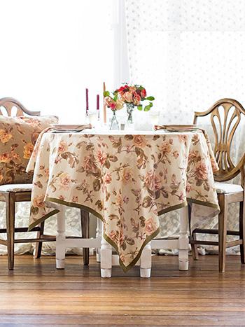 Serenade Linen Tablecloth