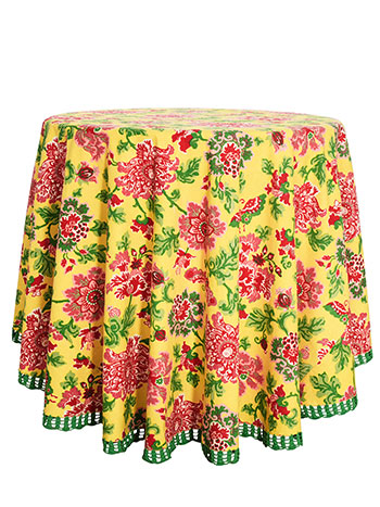 Ming Round Tablecloth