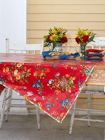 Artist Garden Oilcloth
