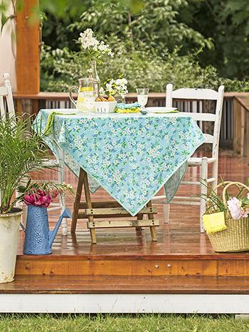 Spring Blossom Oilcloth