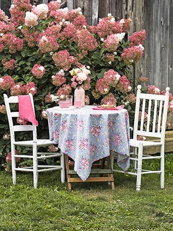 Viola Rose Oilcloth