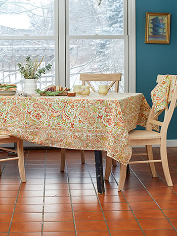 Paisley Fresco Tablecloth