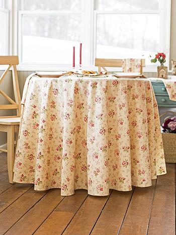 Petra Rose Round Cloth