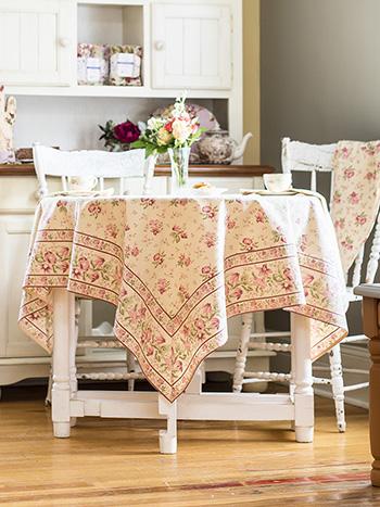 Petra Rose Tablecloth